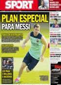 Portada diario Sport del 5 de Septiembre de 2013