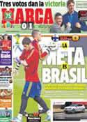 Portada diario Marca del 6 de Septiembre de 2013