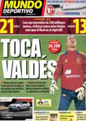 Portada Mundo Deportivo del 6 de Septiembre de 2013