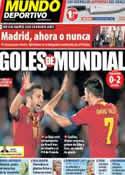 Portada Mundo Deportivo del 7 de Septiembre de 2013