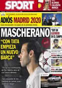 Portada diario Sport del 8 de Septiembre de 2013