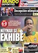 Portada Mundo Deportivo del 8 de Septiembre de 2013