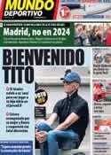 Portada Mundo Deportivo del 9 de Septiembre de 2013