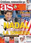 Portada diario AS del 10 de Septiembre de 2013