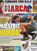 Portada diario Marca del 10 de Septiembre de 2013