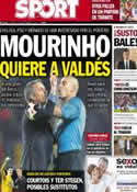 Portada diario Sport del 10 de Septiembre de 2013