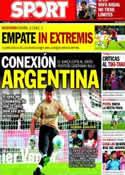 Portada diario Sport del 11 de Septiembre de 2013