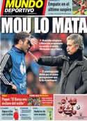 Portada Mundo Deportivo del 11 de Septiembre de 2013