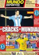 Portada Mundo Deportivo del 12 de Septiembre de 2013