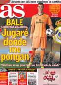 Portada diario AS del 13 de Septiembre de 2013