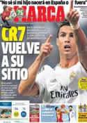 Portada diario Marca del 13 de Septiembre de 2013