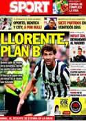 Portada diario Sport del 13 de Septiembre de 2013