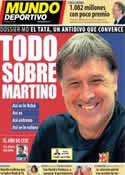 Portada Mundo Deportivo del 13 de Septiembre de 2013