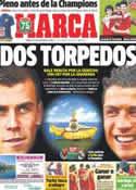 Portada diario Marca del 14 de Septiembre de 2013