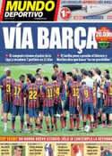 Portada Mundo Deportivo del 14 de Septiembre de 2013