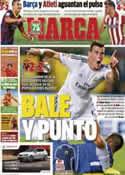 Portada diario Marca del 15 de Septiembre de 2013