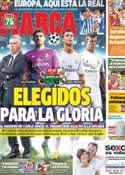 Portada diario Marca del 17 de Septiembre de 2013
