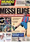 Portada Mundo Deportivo del 17 de Septiembre de 2013