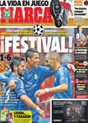 Portada diario Marca del 18 de Septiembre de 2013