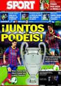 Portada diario Sport del 18 de Septiembre de 2013
