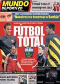 Portada Mundo Deportivo del 18 de Septiembre de 2013