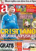 Portada diario AS del 19 de Septiembre de 2013