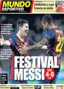 Portada Mundo Deportivo del 19 de Septiembre de 2013
