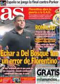 Portada diario AS del 20 de Septiembre de 2013