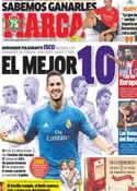 Portada diario Marca del 20 de Septiembre de 2013