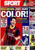 Portada diario Sport del 20 de Septiembre de 2013