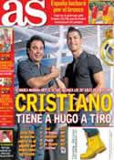 Portada diario AS del 21 de Septiembre de 2013