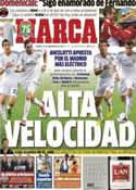 Portada diario Marca del 21 de Septiembre de 2013