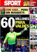 Portada diario Sport del 21 de Septiembre de 2013
