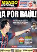 Portada Mundo Deportivo del 21 de Septiembre de 2013