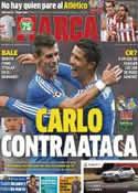 Portada diario Marca del 22 de Septiembre de 2013