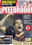 Portada Mundo Deportivo del 22 de Septiembre de 2013