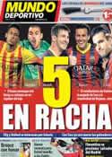 Portada Mundo Deportivo del 23 de Septiembre de 2013