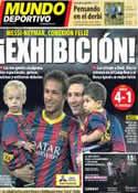 Portada Mundo Deportivo del 25 de Septiembre de 2013