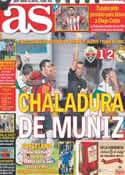 Portada diario AS del 26 de Septiembre de 2013
