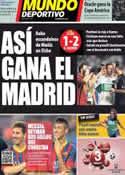 Portada Mundo Deportivo del 26 de Septiembre de 2013