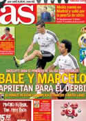 Portada diario AS del 27 de Septiembre de 2013
