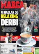 Portada diario Marca del 28 de Septiembre de 2013