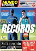 Portada Mundo Deportivo del 28 de Septiembre de 2013
