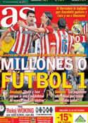 Portada diario AS del 29 de Septiembre de 2013