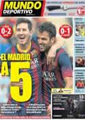 Portada Mundo Deportivo del 29 de Septiembre de 2013