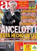 Portada diario AS del 30 de Septiembre de 2013