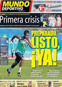 Portada Mundo Deportivo del 30 de Septiembre de 2013
