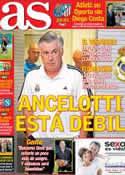 Portada diario AS del 1 de Octubre de 2013
