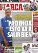 Portada diario Marca del 1 de Octubre de 2013