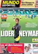 Portada Mundo Deportivo del 1 de Octubre de 2013
